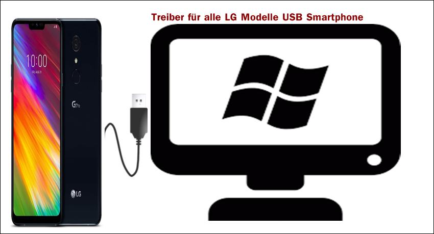 Treiber für alle LG Modelle USB
